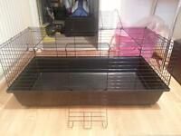 large indoor guinea pig or rabbit cage