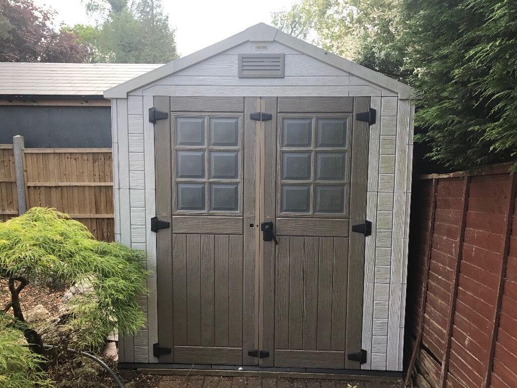 Garden Sheds 2m X 2m keter plastic garden shed 6.8x9.9 2m x 3m | in harrow, london