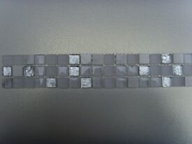 £2.50 per strip PORCELANOSA STONE AND GLASS MOSAIC size are 300mm x 47mm