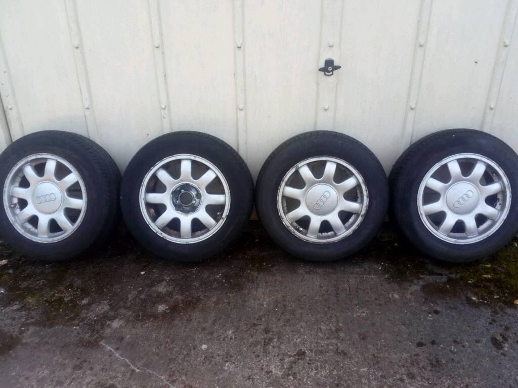 Audi alloy wheeld