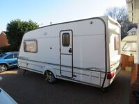 Luxury 2 berth caravan tourer with Isobella Porch awning and fitted Mover, everything with it.