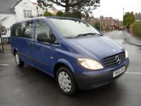 Mercedes-Benz Vito 2.1 111CDI Traveliner Long Bus 5dr (9 Seats)