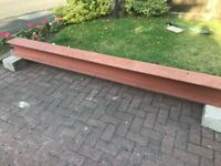 RSJ - steel beam - steel lintel - 203 x 203 x 46 UC (275) 3.9m long