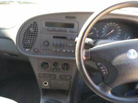 Saab 9-3 TiD Diesel 1999 manual - a solid Swedish car, future classic. Mot till 1/09/2018. £499