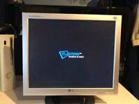 17 Inch LG Monitor Screen
