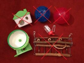 Hamster Cage Accessories - Mixed