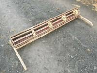 5ft wide Tractor crumbler attachment for implement