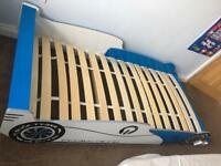 Racing car single bed frame