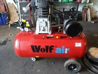 Air Compressor 90L + Accessories OPEN TO OFFERS