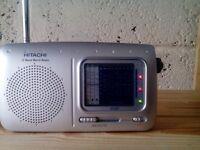 Hitachi Worldband Portable Radio