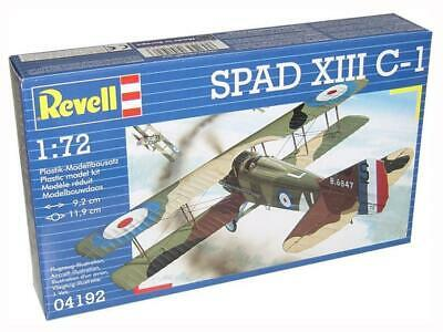 Revell Spad XIII C-1 1:72 Scale Kit. 04192