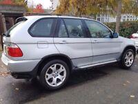 BMW X5, 3.0i Sport, 2002 (51 plate), Silver, HPI Clear, FSH, MOT 31.5.2018, £2,150.00 ovno