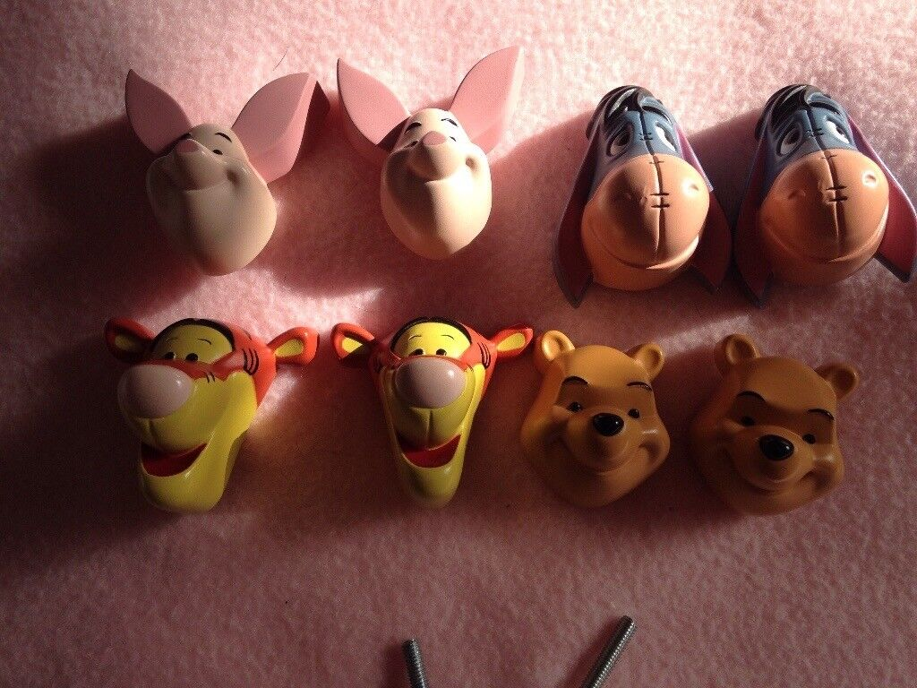 Winnie the Pooh character door knobs | in Heybridge, Essex | Gumtree