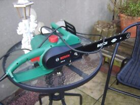 Bosch AKE 40 Electric Chain Saw. Hardly Used.