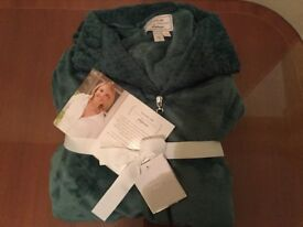 Carole Hochman Heavenly Soft Dressing Gown- Size Small