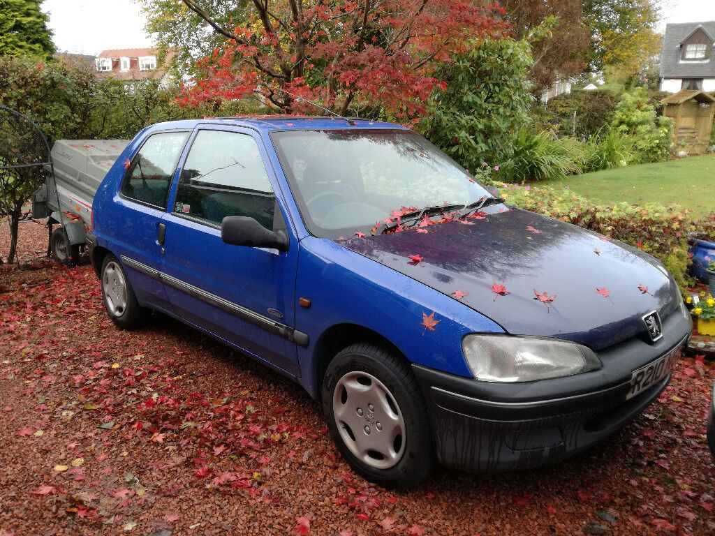Peugeot 106 (1997) - Spares or Repair. Starts and runs but head gasket blowing. Offers!