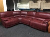 Ex DISPLAY/ NEW LazBoy Large Corner Group Recliners Sofa LEFT OR RIGHT SIDE CORNER
