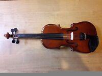 Stentor 1/4 size violin