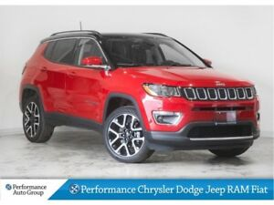 2017 Jeep Compass Limited * Pano Roof * Nav * 4x4