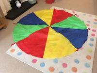 4x 78 inch play parachutes