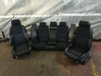 BMW E36 328i Touring Estate Black Half Leather Sport Interior Seats & Door Cards
