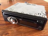 JVC car cd radio with Aux input