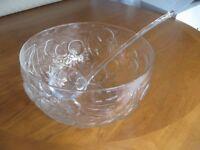 Vintage Punch Bowl & Ladle