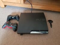 Ps3 with 2 controlers and game