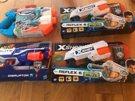 Nerf guns brand new