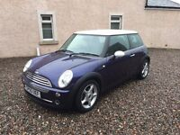 2005 Mini Cooper 1.6 Petrol, MOT May 2017, Just Serviced, Spare Key, Mint Condition Purple