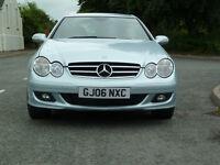 2006 Mercedes CLK 220 CDI 150 bhp Diesel