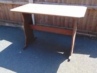 small pine kitchen dining table dark oak coloured pine
