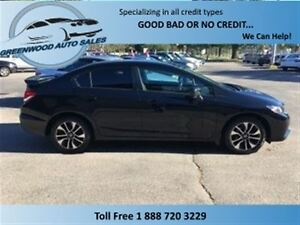 2014 Honda Civic BACK UP CAM! SUNROOF! SHARP CAR! FINANCE NOW!