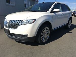 2013 Lincoln MKX ONE OWNER stylish Charcoal interior