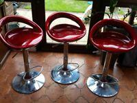 Kitchen high chairs x3