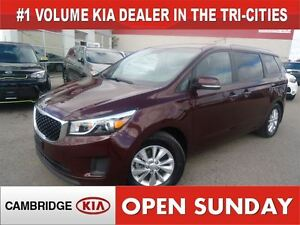 2016 Kia Sedona LX+ / POWER DOORS / ONLY 39KM