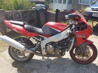 Kawasaki zxr363 & Yamaha Fzr1000