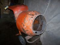 Belle cement mixer 110 volt