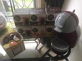Nescafé dolce gusto with coffee pods