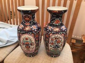 Beautiful Blue Chinese Vases