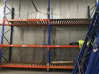 12 bays of pallet racking