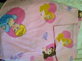 Disney princess junior duvet set cover