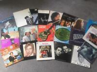 REDUCED! ONLY £25! COLLECTION OF 21 MIXED VINYL LP's - Mostly 1st presses!