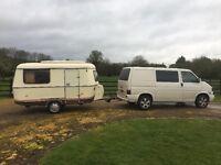 Eriba classic lightweight caravan. 3 berth.