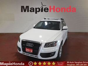 2012 Audi Q5 3.2| Leather, Navi, All-Wheel Drive!Panoramic Roof