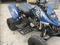 Can-am bombardier DS650 2008 road legal quad bike