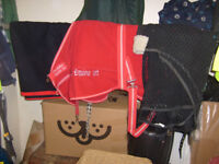 """Horse body blanket. Sweat Rug and exercise rug. 6ft. Fit 15.1"""" Cob. sold as parcel"""