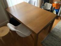 IKEA Brjusta extendable dining table