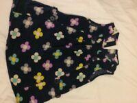 girls John Lewis needle cord pinafore dress age 2