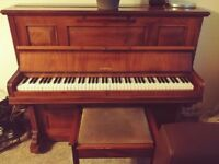 Chappell & Co upright piano classic antique beautiful